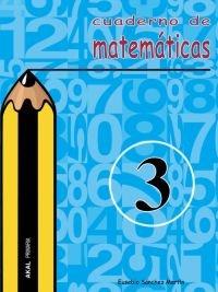 Cuaderno matematicas 3 ep