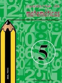 Cuaderno matematicas 5 ep