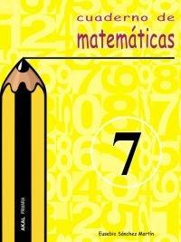 Cuaderno matematicas 7 ep