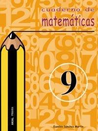 Cuaderno matematicas 9 ep