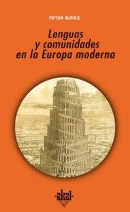 Lenguas y comunidades en la europa moderna