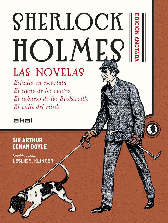 Sherlock holmes anotado,las novelas