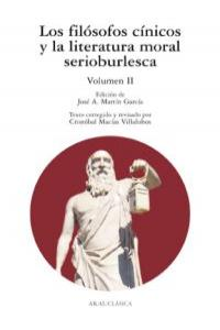 Filosofos cinicos y literatura moral serioburlesca ii