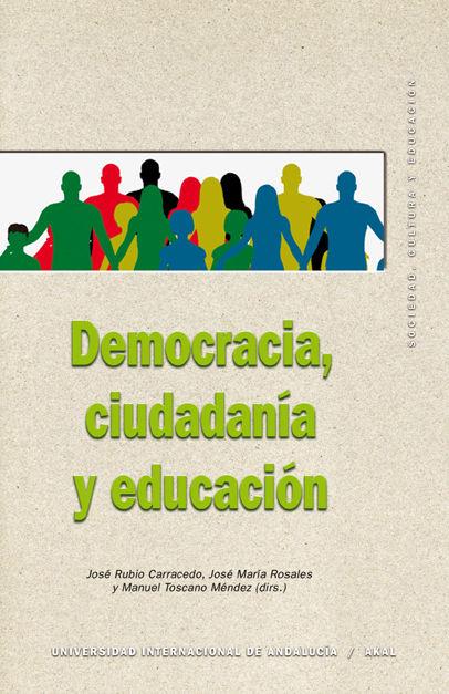 Democracia, ciudadania y educacion