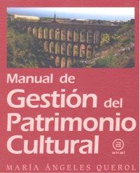 Manual de gestion de patrimonio cultural