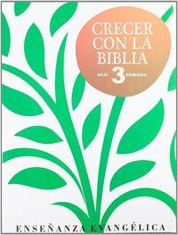 Crecer con la biblia 3ºep
