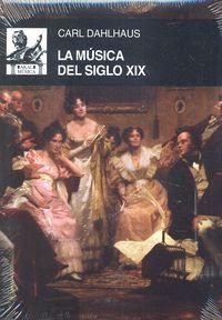 Musica del siglo xix,la