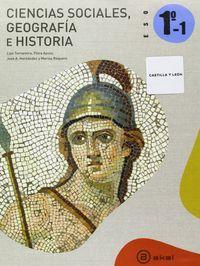 Geografia historia leon trimestral eso1 ed.2011