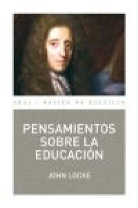 Pensamientos sobre la educacion