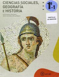 Geografia historia 1ºeso trimestres c.mancha