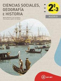 Geografia historia madrid trimestral ed.2012 eso 2