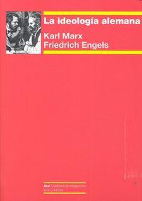 Ideologia alemana,la
