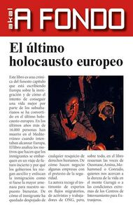 Ultimo holocausto europeo,el
