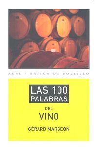 100 palabras del vino,las