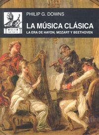 Musica clasica,la
