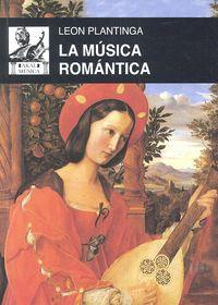 Musica romantica,la