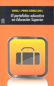 Portafolios educativo en educacion superior,el