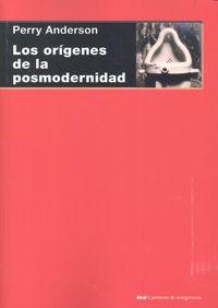 Origenes de la posmodernidad,los