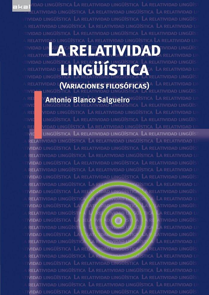 Relatividad linguÜistica,la