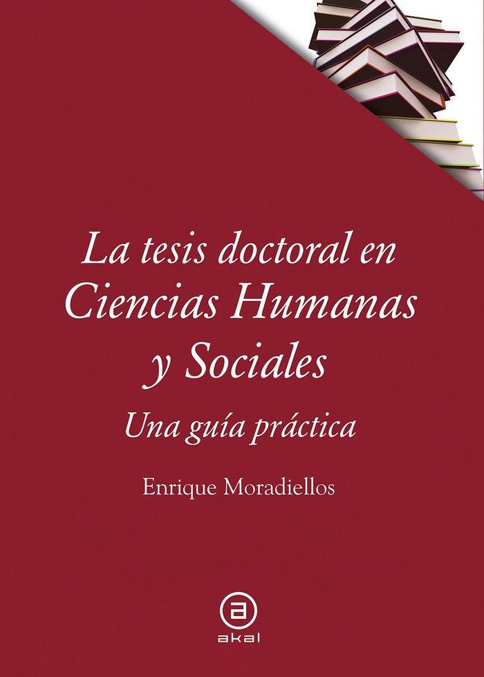 Tesis doctoral en ciencias humanas y sociales,la