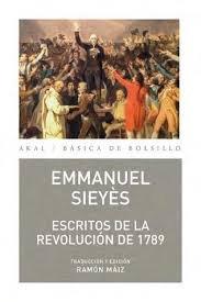 Escritos de la revolucion de 1789