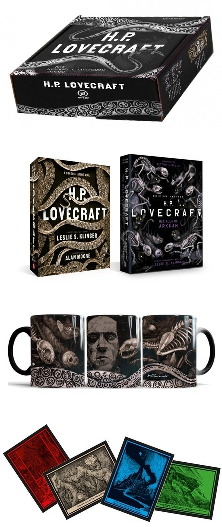 Pack h p lovecraft anotado