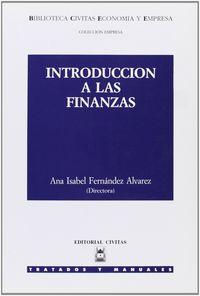 Introduccion finanzas