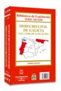 Derecho civil de galicia 1ªed 2006