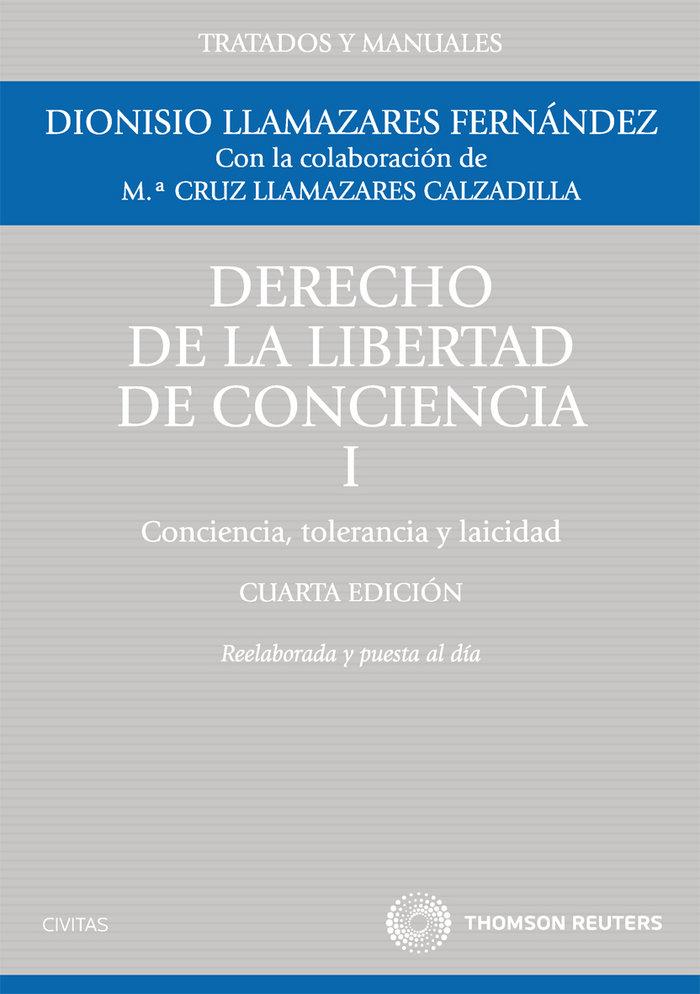 Derecho de la libertad de conciencia i conciencia 4ºed