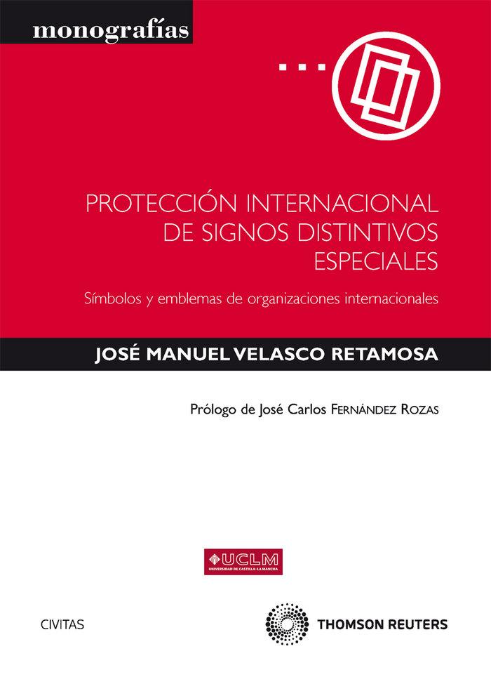 Proteccion internacional de signos distintivos especiales -