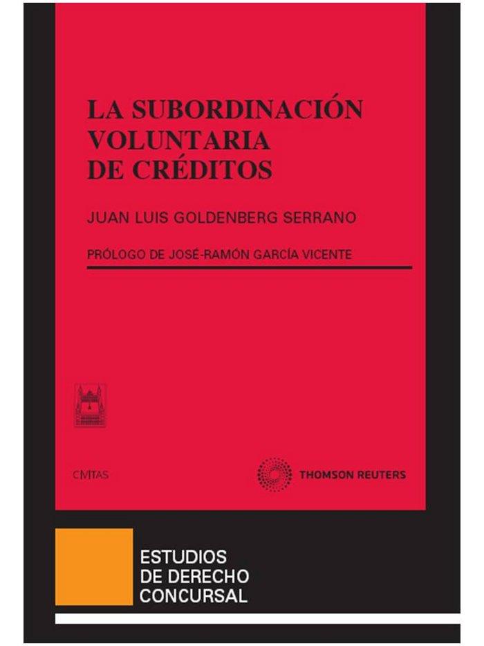 Subordinacion voluntaria de creditos,la