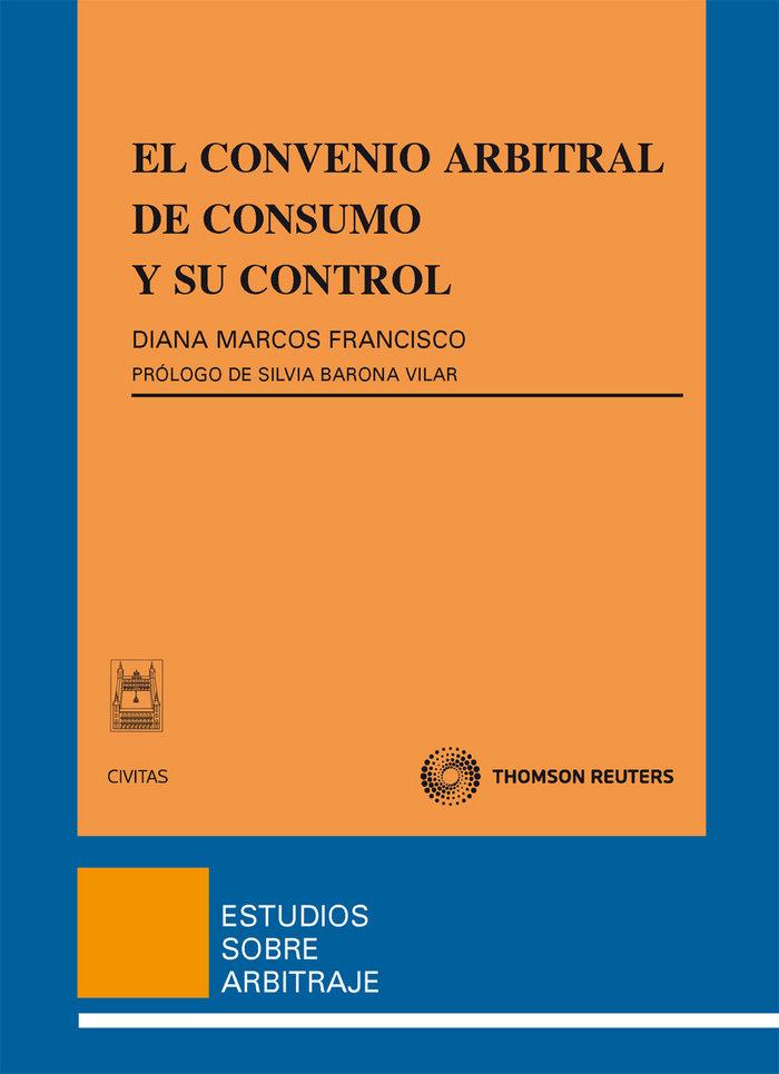 Convenio arbitral de consumo y control,el