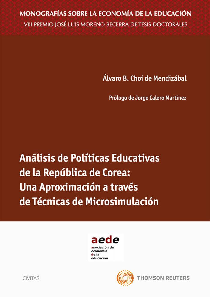 Analisis de politicas educativas de la republica de corea