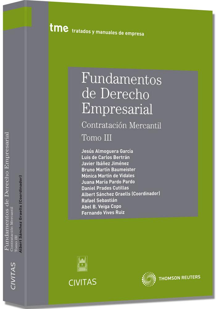 Fundamentos deaderecho empresarial iii