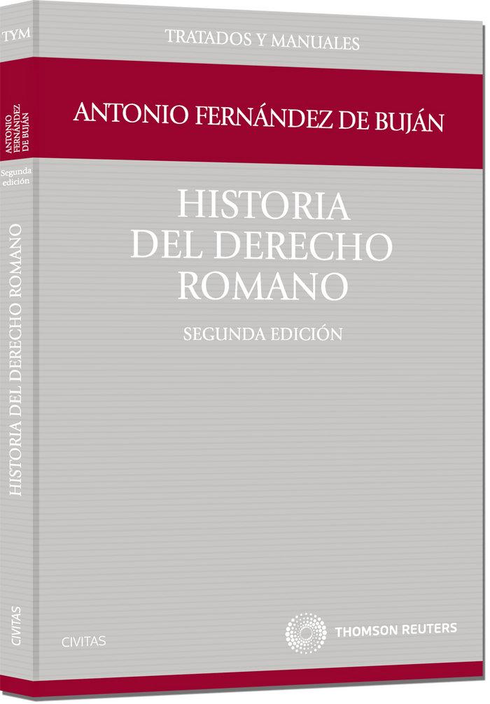 Historia del derecho romano 2ªed
