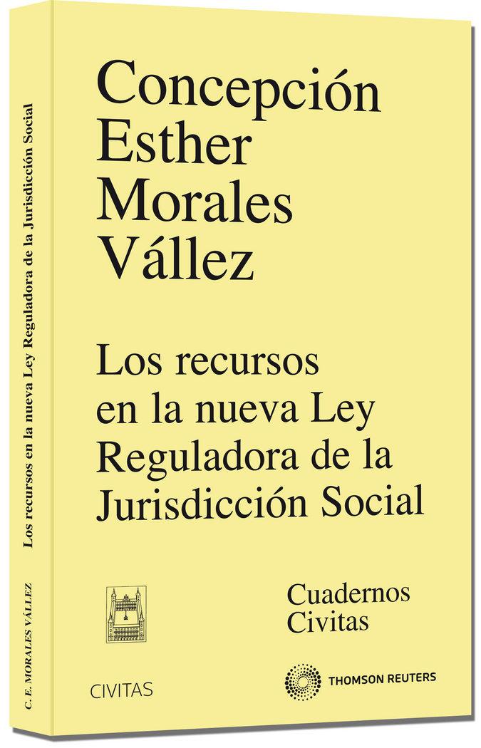 Recursos en la nueva ley reguladora de la jurisdiccion socia