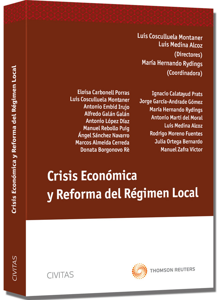 Crisis economica y reforma del regimen local
