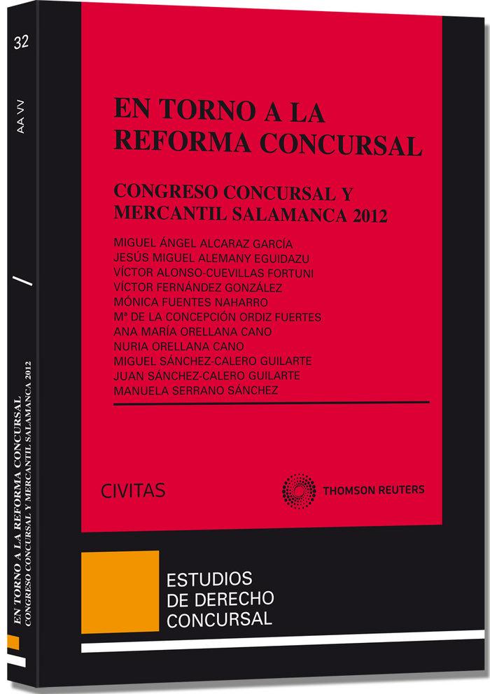 En torno a la reforma concursal