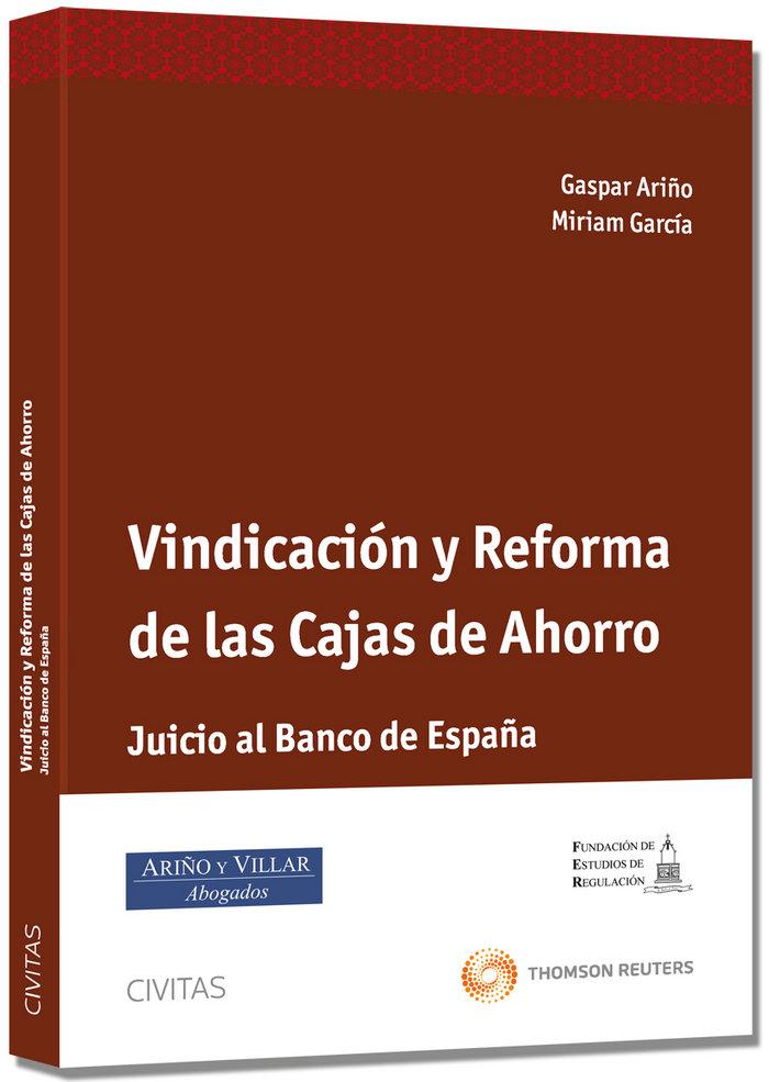 Vindicacion y reformas de las cajas de ahorros