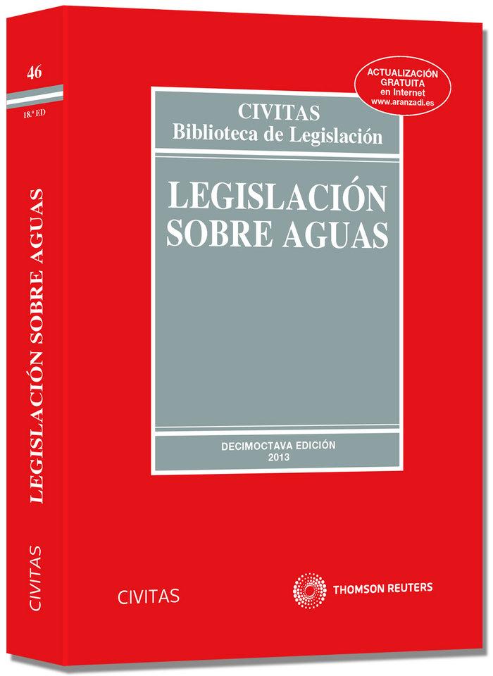 Legislacion sobre aguas 46ºed 2013