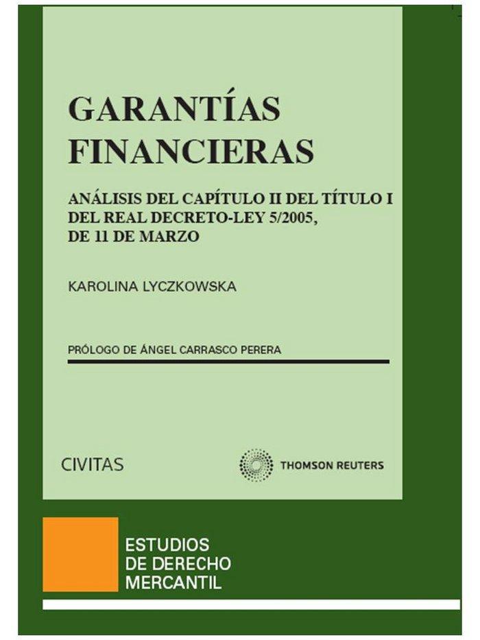 Garantias financieras