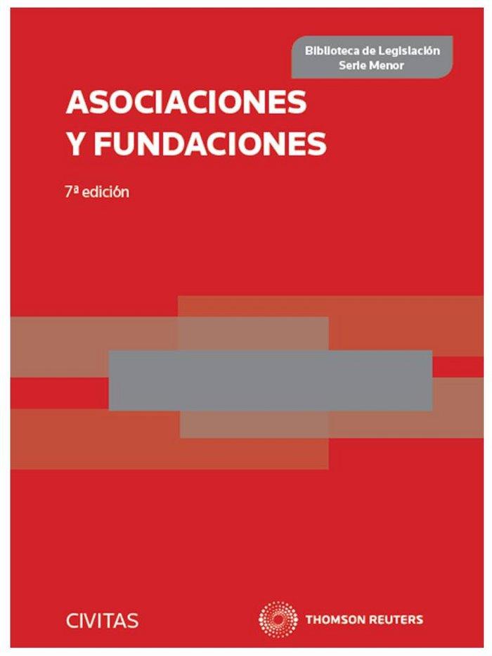 Asociaciones y fundaciones 7ºed 2013