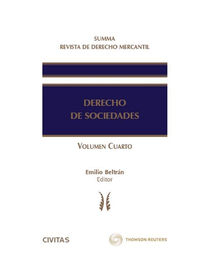 Summa revista de derecho mercantil. derecho de sociedades (v