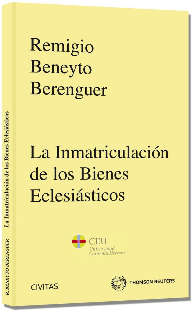 Inmatriculacion bienes eclesiasticos,la