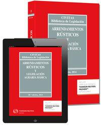 Arrendamiento rustico y legislacion agraria basica 28ªed 14