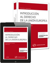 Introduccion al derecho de la union europea 1ºed duo
