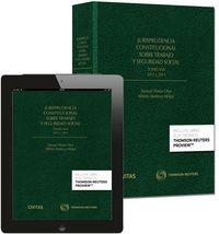 Jurisprudencia constitucional sobre trabajo y seguridad soc