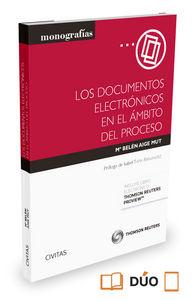 Documentos electronicos en el ambito del proceso,los