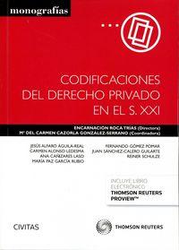 Codificaciones del derecho privado en el s xxi