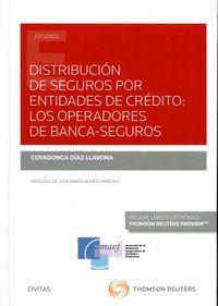 Distribucion de seguros por entidades ce credito operadores